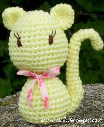 PATTERN: Crochet kitty