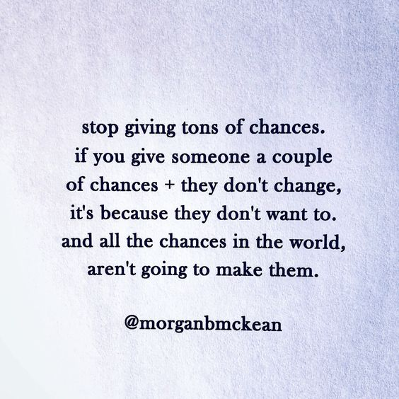 you don't owe anyone a second (or third or forth) chance to keep hurting you. if they loved + valued you, they would act like it... I promise. ~ xx M #narcissisticabuse #narcissist #codependency #quote #divorce #narcissism #abuserecovery