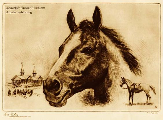 On this Day in History, May 17, 1875:  The first Kentucky Derby was won by Aristides.    #derby #kentucky #ancestry