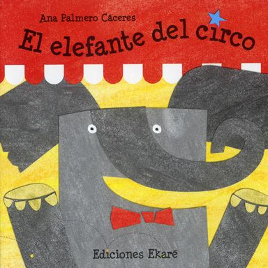 Poesía protagonizada por un simpático elefante de circo. La propuesta resulta muy adecuada al público prelector, tanto por su temática como por la sencillez y el ritmo del texto, así como por sus ilustraciones, muy geométricas y de colores vivos... #LIJ
