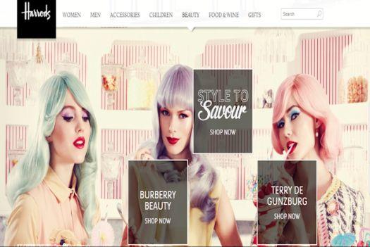 Harrods Beauty Ad