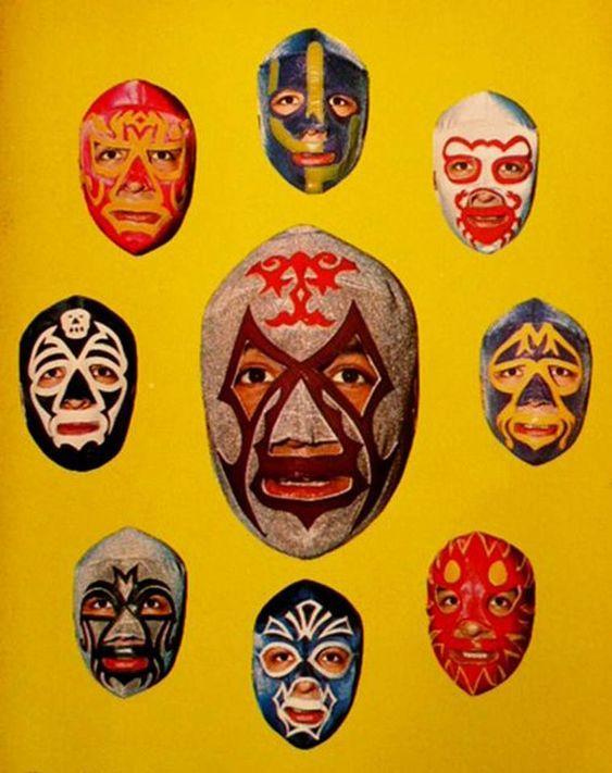 Compil masques de lucha libre mexicana #luchador #mask #mascara