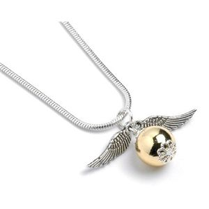 Harry Potter Golden Snitch Necklace    so i kinda saw this on play.com and i just wan it proper badly, will need to save! i'm a harry potter nerd what can I say?