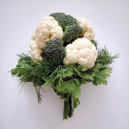 Букеты из овощей:
