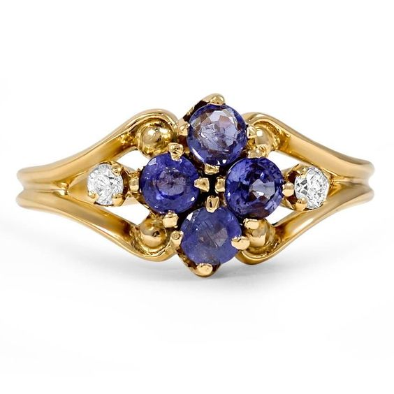 14K Yellow Gold The Melia Ring from Brilliant Earth