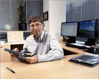 """Bill Gates: """"Não sou tecnológico 24 horas por dia"""" - http://www.blogpc.net.br/2009/08/nao-sou-tecnologico-24-horas-por-dia.html"""