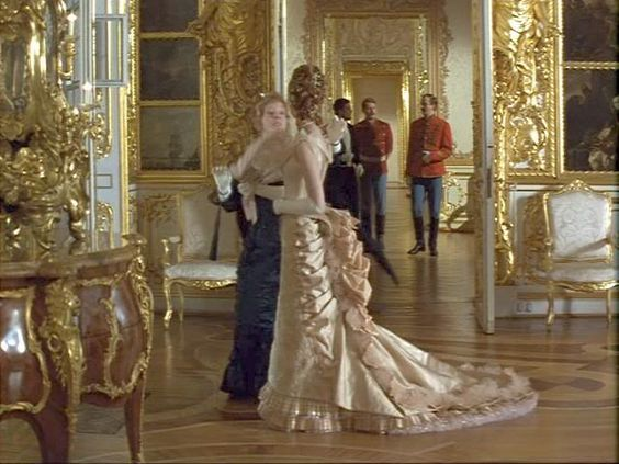 Kitty's cream ball gown from Anna Karenina 1997 - complete ...