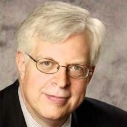 Radio host extraordinaire Dennis Prager on WHK 1420AM (Cleveland)...M-F 12-3pm.  He teaches life lessons every day!   A clear and thoughtful thinker.  No hating.  Happiness Hour every Friday 1-2 is especially good.  LOVE him!