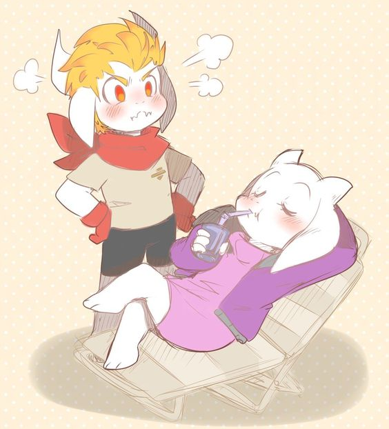 Altertale Asgore and Toriel by thegreatrouge on DeviantArt