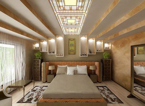 design de plafond lits lunettes plafonds art d co art d co