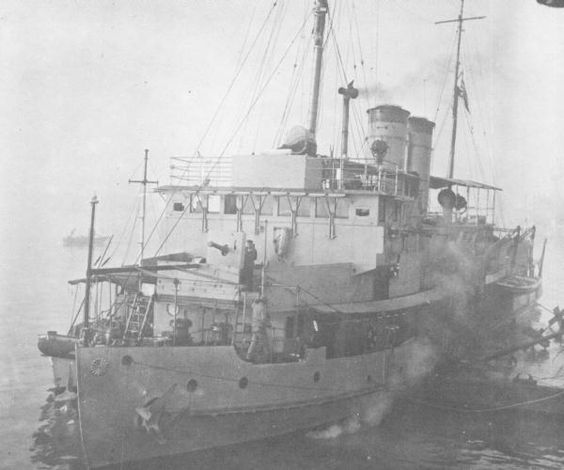 USS Wake (PR-3) was a United States Navy river gunboat operating on the Yangtze River. On 8 December 1941 (7 December in Hawaii), she was attacked by the Japanese. Surrounded by an overwhelming Japanese force, the crew attempted unsuccessfully to scuttle the craft. Wake surrendered, the only U.S. ship to do so in World War II.