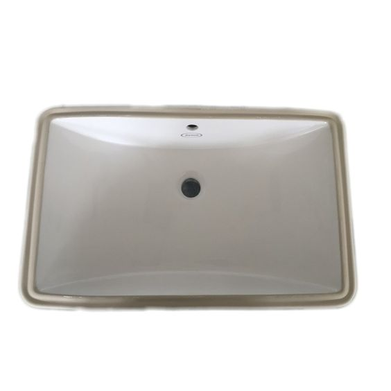 LOWES 23 x 14 Jacuzzi Mika White Ceramic Undermount Rectangular Bathroom  Sink with Overflow  LOWES. Lowes Jacuzzi