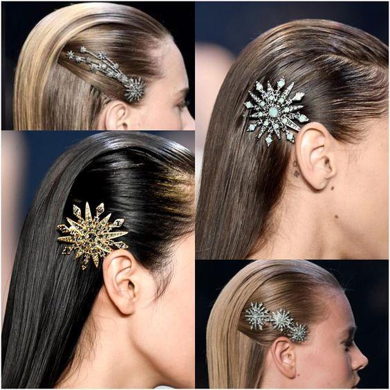 Как же мне нравится тренд носить броши в волосах ! А Вам ?) #длявдохновения - broshki_spb