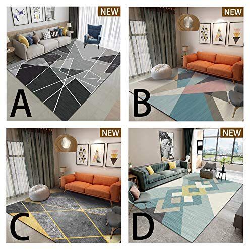 Llluckydt For Living Room Rugs Bedroom Indoor Non Slip Carpet Non