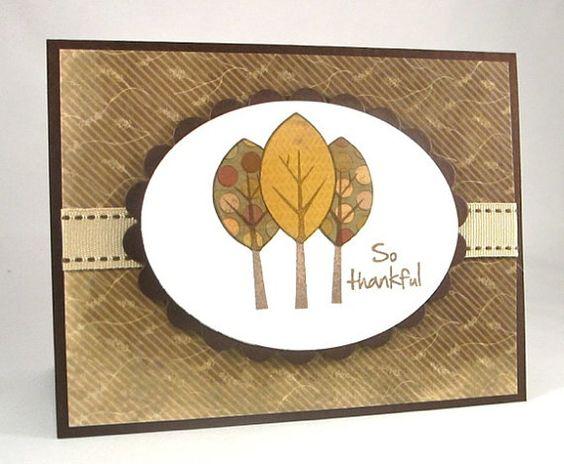 So Thankful Trees Card