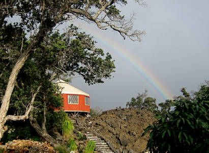 """Check out this awesome listing on Airbnb: 24' Pacific Yurt """"4 Star Camping"""" in Ocean View"""