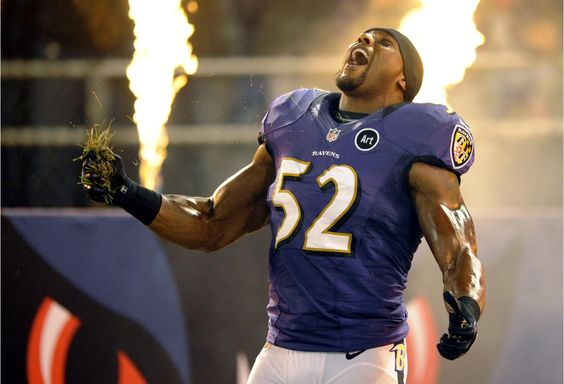 NE v BAL 09-23-12 ~ Ray Lewis, always a classic