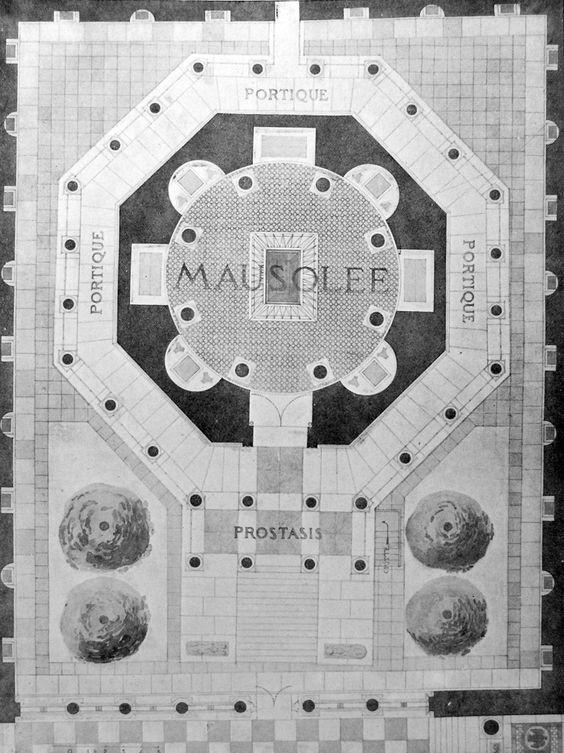 Palazzo Di Diocleziano Spalato Mausoleo Pianta