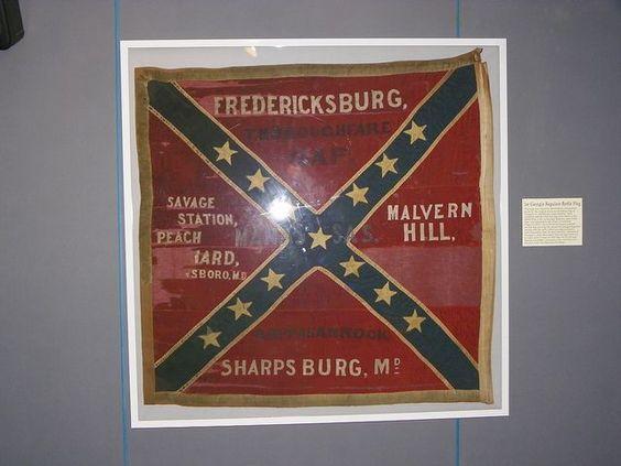 American Civil War Maps -                                                              The 5th Florida Flag