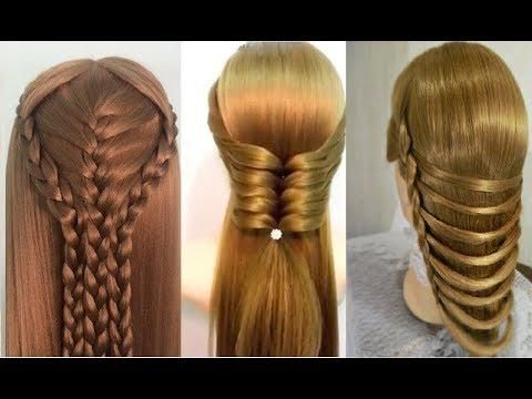 How To Make Hairstyle At Home For Girls Diy Easy Braided Hairstyles Braided Hairstyles Easy Hair Styles Easy Hairstyles