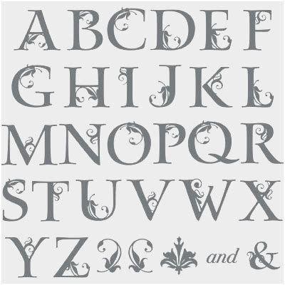 Fancy text fonts