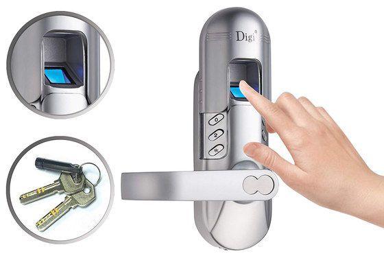 Home Entry Fingerprint Door Locks With Thumbprint Reader Door Locks Biometric Door Lock
