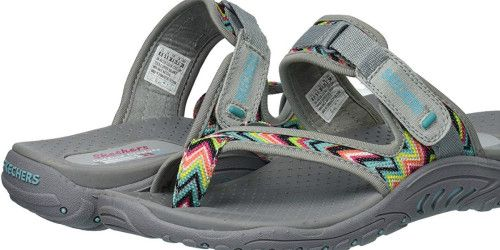 uk availability cheap amazing price Skechers Women's Sandals Only $10 on Amazon (Regularly $45 ...