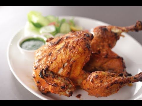 Full Tandoori Chicken Sanjeev Kapoor Khazana Youtube Tandoori Chicken Chicken Roast Chicken Recipes