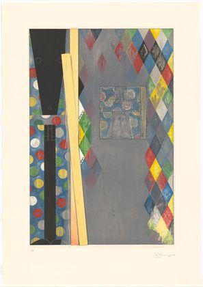 Jasper Johns. Bushbaby. 2004