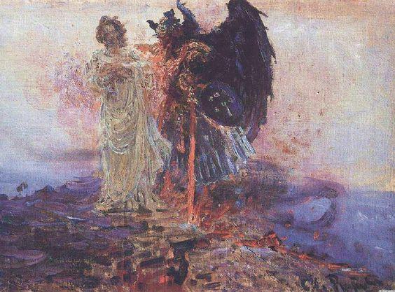 Temptation of Christ - Ilya Repin - 1801 dans images sacrée 7cd601f5f5d73d09ce8c88a235356b14