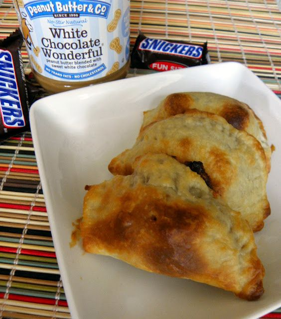 Baked Snickers Empanada