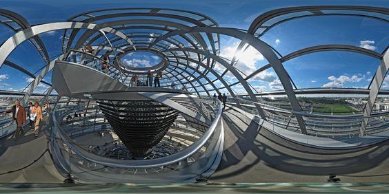 Reichstag - Kuppel oben