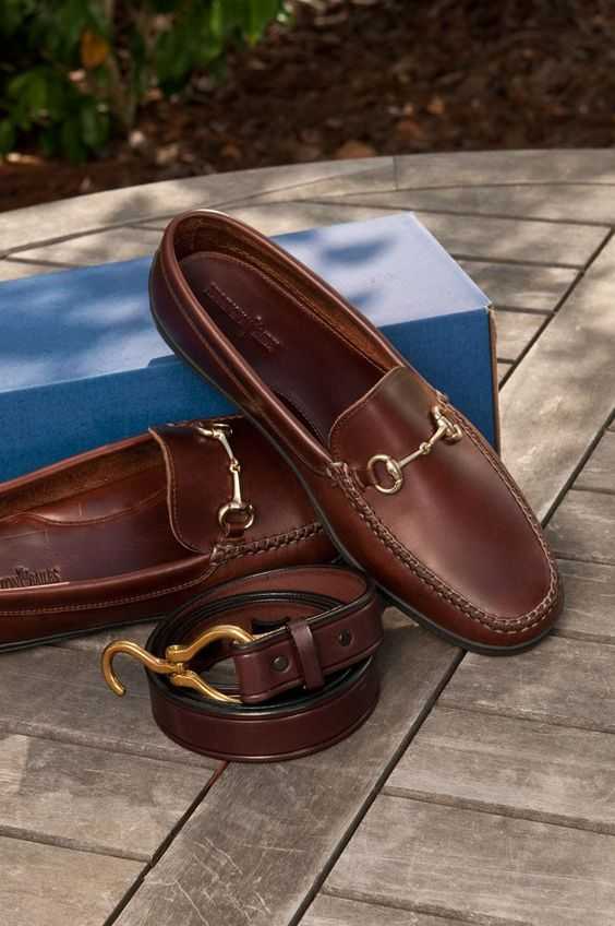 Horsebit Loafers. A must-have for every man