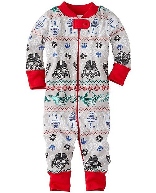 Star Wars™ Night Night Baby Sleepers In Pure Organic Cotton from #HannaAndersson.