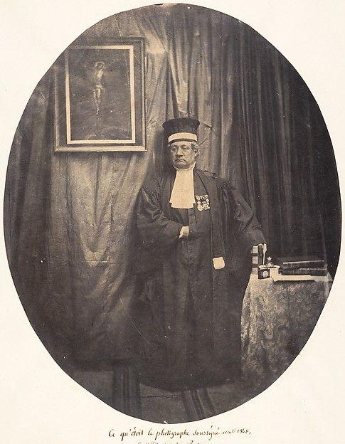 Louis-Pierre-Théophile Dubois de Nehaut | The Undersigned Photographer as He Was Before 1848 | The Met: