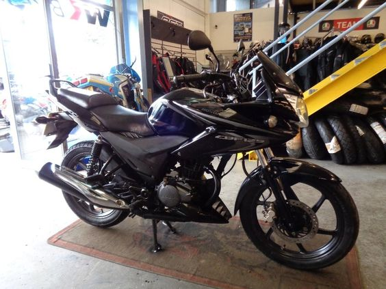 Honda CBF125 125 2013, 17694 miles, £1699 - Black, 2 owners, GOOD CONDITION, HPI CLEAR, GREAT LEARNER LEGAL 125. PX WELCOME, CREDIT/DEBIT CARDS ACCEPTED.