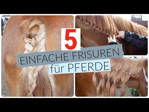 3 Flechtarten Fur Den Schweif Tutorial Youtube Pferde Frisuren Pferdefrisuren Frisuren Zum Nachmachen