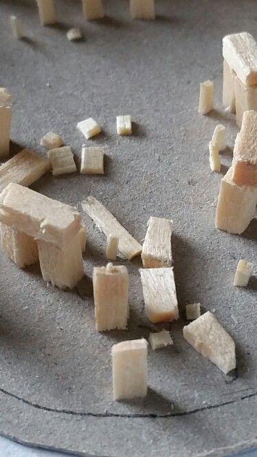 Stonehenge made with matchsticks