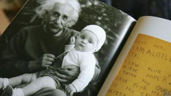 Colocan en la red 80.000 documentos personales de Einstein http://bbc.in/1vnYSCg