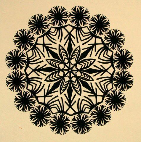 Paper cutting patterns, Paper art and Paper cutting