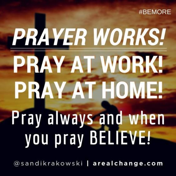 Prayer works for every situation! Peace beyond understanding! How can we pray for you today?
