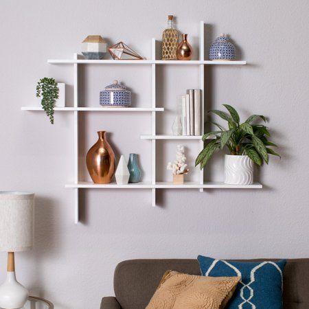 Image 1 Of 8 Shelf Decor Living Room Wall Shelf Decor Living Room Shelves