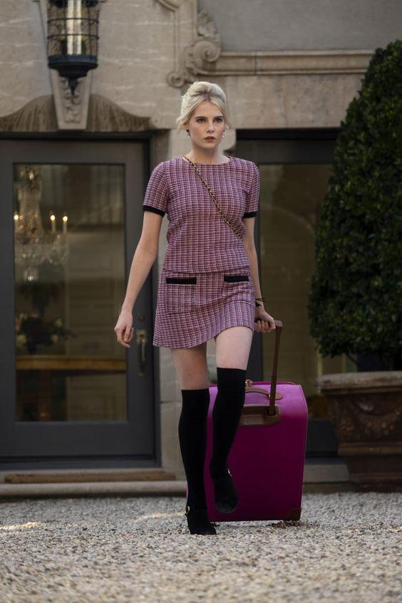 Astrid Sloan in Zara on The Politician season 1