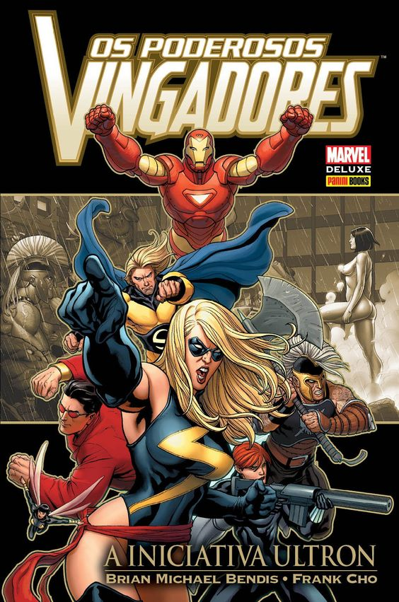Os Poderosos Vingadores - A Iniciativa Ultron - Marvel Deluxe - MonsterBrain