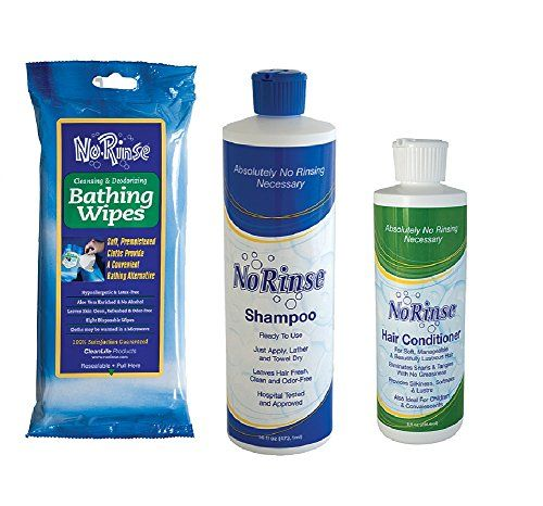 No Rinse Body Wipes Shampoo And Conditioner Set Perfect For Care Givers To View Further For This Article Vis Shampoo Conditioner Set Body Wipes Shampoo