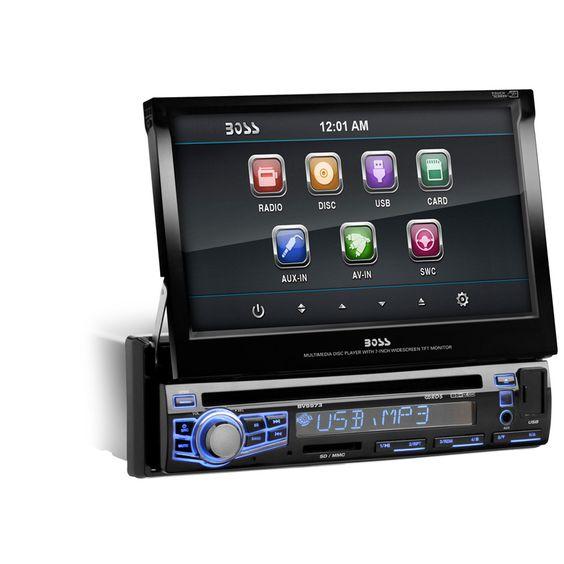 Boss Audio Single Din 7 Motorized Touchscreen Monitor