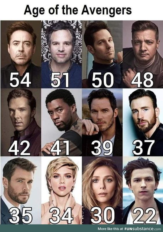 When I was 12 I had a crush on iron man until I realized he was the same age as my dad… it was a sad horrifying day