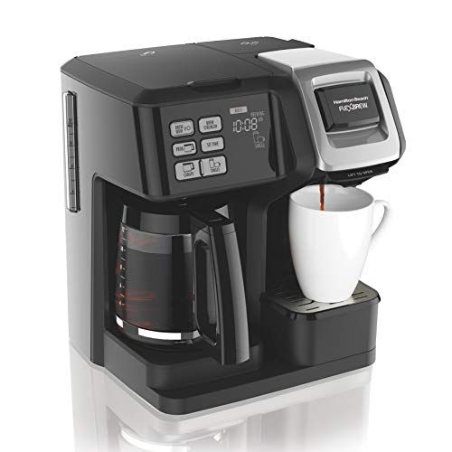 Double Shot 10 Cool Coffee Makers For 2020 In 2020 Hamilton Beach Coffee Maker Single Coffee Maker Best Coffee Maker