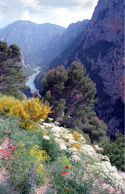 Gorges du Verdon. Magnifiques paysages.