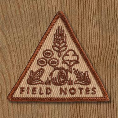 Field Notes National Crop Patch